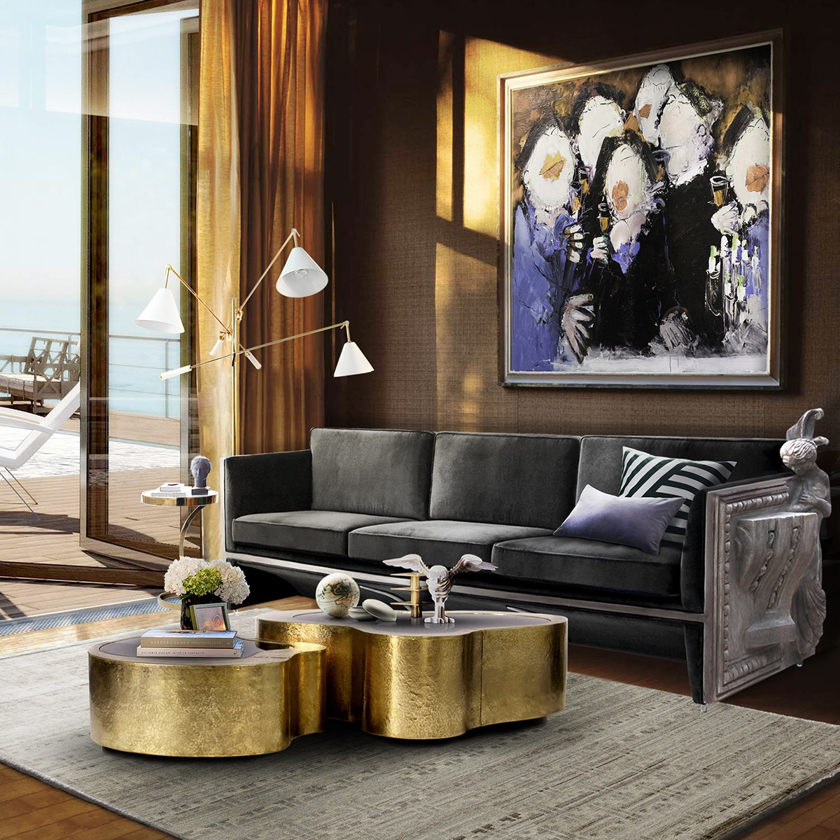 Cras blandit tellus congue varius feugiat. 5 Luxury Coffee Tables to glam up your living room wave