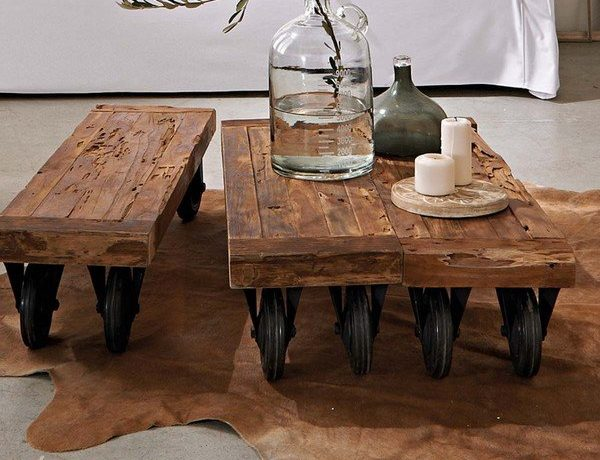 Rustic design coffee tables for your living room 1 1 600x460
