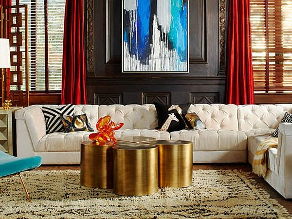 gold coffee table Gold Coffee Table Design Ideas you Will Covet feature 2 600x450