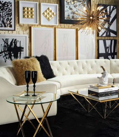 15 Black and White Living Room Ideas Using the Best Coffee Table Designs 1 4 400x460