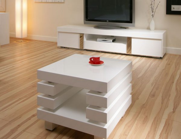 Gracious Contemporary Interiors with white Coffee and Side Tables white gloss side table 1500 1 600x460