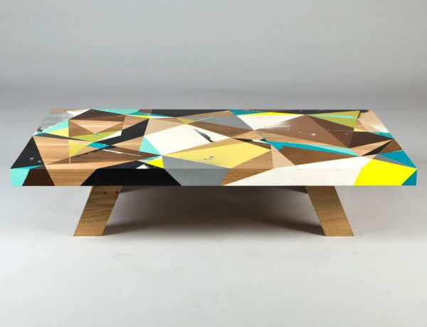 coffee table Vans the Omega Creates Amazing Graffiti-Inspired Coffee Tables vto4 1 600x460