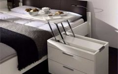 bedside tables 10 Ideas To Prove Bedside Tables Don't Have To Be Nightstands 10 Ideas To Prove Bedside Tables Don   t Have To Be Nightstands 6 1 240x150