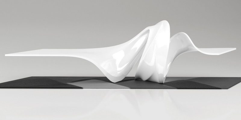 Discover The Striking Le A Coffee Table By Zaha Hadid