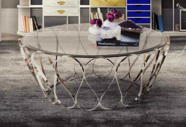 glass coffee table The Best Smoked Glass Coffee Tables To Have Featured Image The Best Smoked Coffee Tables To Have 600x411