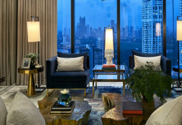 hirsch bedner associates The Altamount Residence Design Project by Hirsch Bedner Associates feature 12 600x411