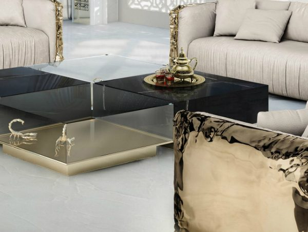black coffee tables Black Coffee Tables For Your Contemporary Living Room zFeatured 1 600x451