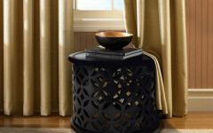 Black Side Table Thrilling Black Side Tables For A Modern Living Room 1 5 240x150