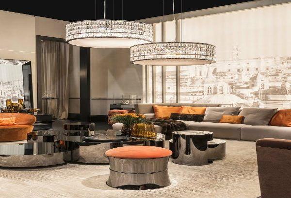 living room 10 Incredible Glass Coffee Tables To Brighten Up Your Living Room constellation fendi feature 600x410