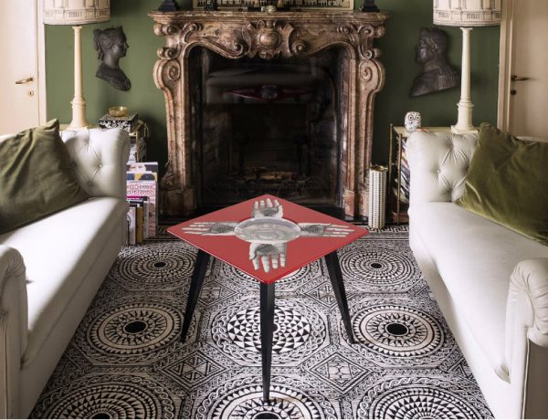 fornasetti Fornasetti's Whimsical Coffee and Side Tables Whimsical Coffee and Side Tables feature 600x460