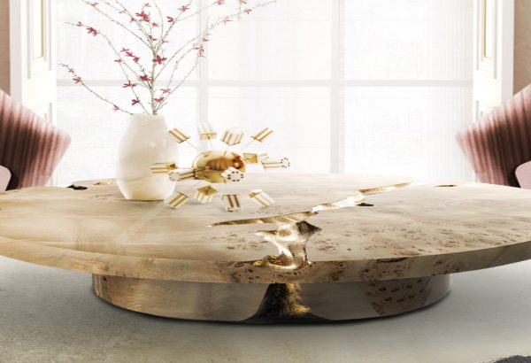 round coffee tables Get Impressed by 10 Round Coffee Tables for a Modern Living Room featurecst 600x410