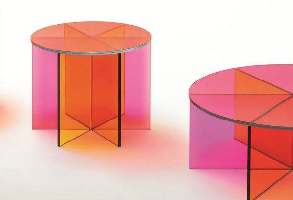 glas italia Glas Italia's Beautiful Glassy Creations coffee and side tables 600x410