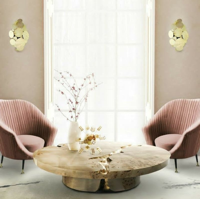 coffee and side tables Top 5 Gold Coffee and Side Tables For Your Luxury Living Room Top 5 Gold Coffee Tables For Your Luxury Living Room 1