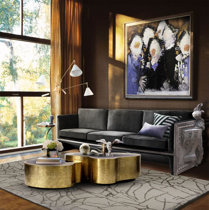 coffee and side tables Top 5 Gold Coffee and Side Tables For Your Luxury Living Room Top 5 Gold Coffee Tables For Your Luxury Living Room 8