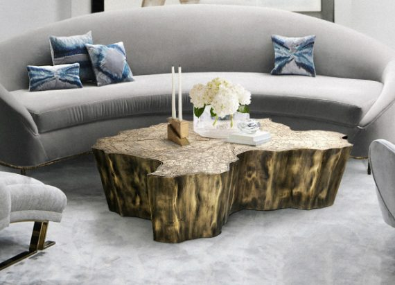 coffee and side tables Top 5 Gold Coffee and Side Tables For Your Luxury Living Room feature 570x411