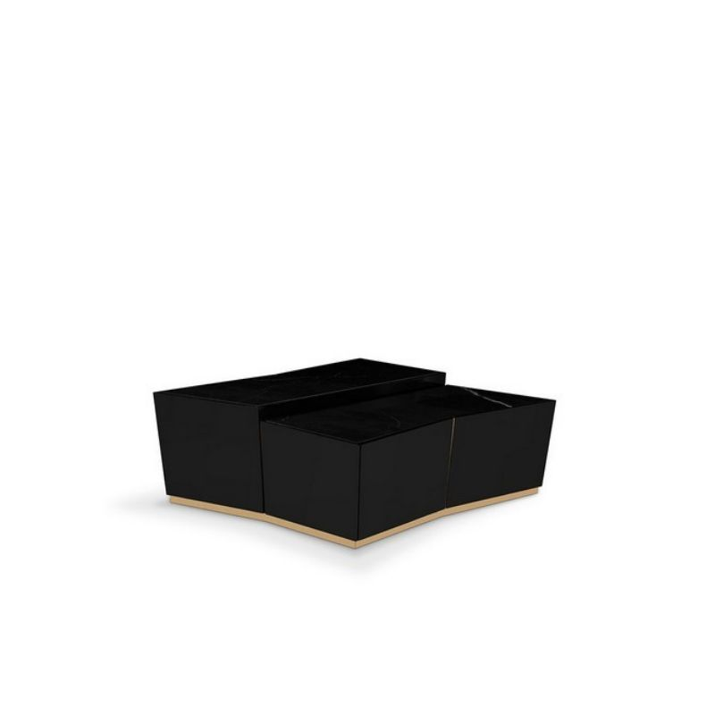 Get Amazed By These Five Modern Black Center Tables  black center tables Get Amazed By These Five Modern Black Center Tables Beyond Luxxu Pe  a