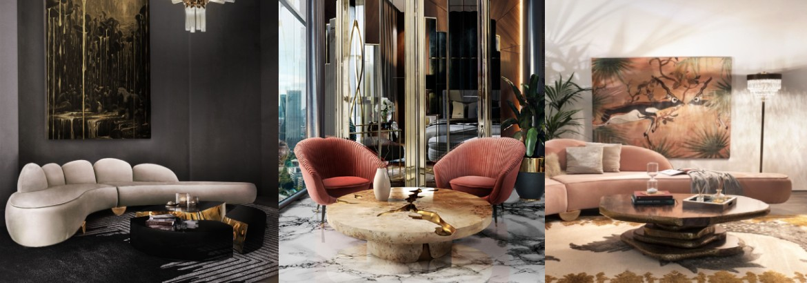 round coffee table Round Coffee Table Inspirations For An Original Home Decor Sem t  tulo
