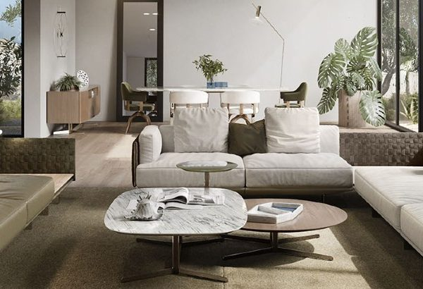 living room design 10 Living Room Design Ideas By Luxury Furniture Brands capa 1 600x410