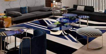 Luxury Furniture Brand: Fendi Casa Living Room Furniture Inspirations