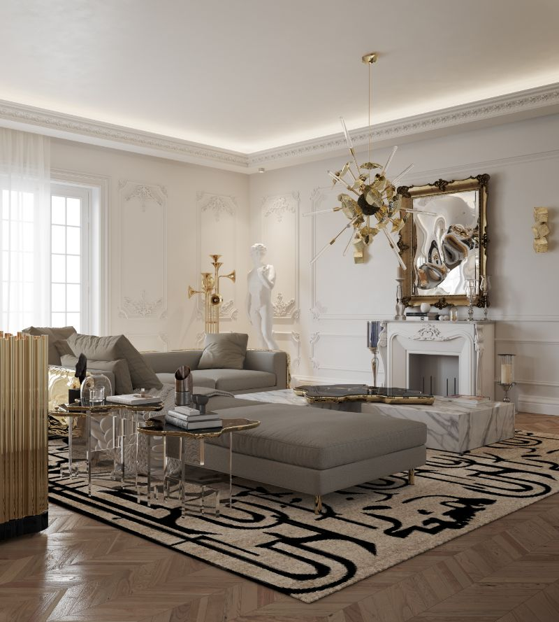 Boca do Lobo´s New Paris House Living Room Design living room design Boca do Lobo´s New Paris House Living Room Design living room 4 1
